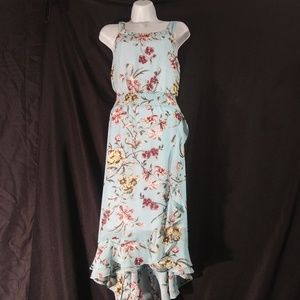 EST 1946 Blue Floral Maxi Dress
